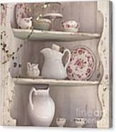 Corner Cupboard Canvas Print