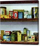 Corner Grocery Store Canvas Print