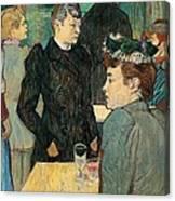 Corner Of Moulin De La Galette Canvas Print