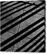 Corner Railing Canvas Print