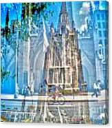 Corners-broadway And 11th Canvas Print