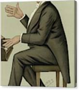 Corney Grain  Entertainer        Date Canvas Print