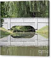 Corning Ny Denison Park Bridge Canvas Print
