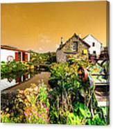 Cornish Reflections  Canvas Print