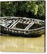 Cornish Shipwreck Canvas Print