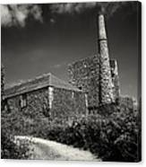 Cornish Tin Mine. Canvas Print