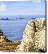 Cornwall - Land's End Canvas Print