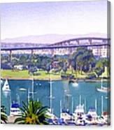 Coronado Bay Bridge Canvas Print