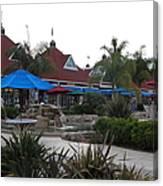 Coronado Ferry Landing Marketplace In Coronado California 5d24386 Canvas Print