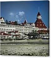 Coronado Hotel Canvas Print