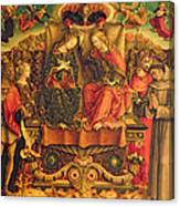Coronation Of The Virgin Canvas Print