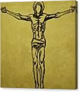 Corpus Christi And Dove Canvas Print