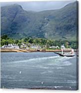 Corran Ferry Canvas Print