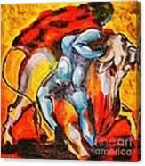 Corrida - Matador Canvas Print