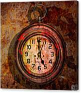 Corroded Time Canvas Print