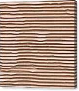 Corrugated Cardboard Canvas Print