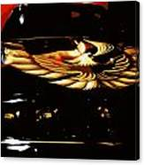Trans Am Against Red Canvas Print