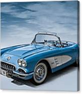 Corvette Blues Canvas Print