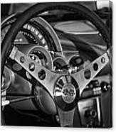 Corvette Cockpit Canvas Print