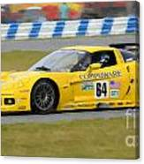 Corvette Gt1 C6 Race Car Canvas Print