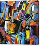 Cosmic Birth Of Jazz Canvas Print