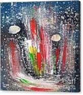 Cosmic Blue 67 Canvas Print