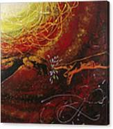 Cosmic Contact Canvas Print