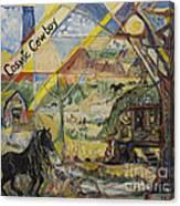 Cosmic Cowboy Canvas Print