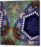 Cosmic Flight Of Dragon Canvas Print