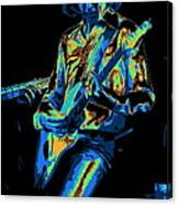 Cosmic Mick Of Bad Company In 1977 Canvas Print