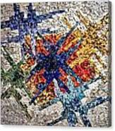 Cosmic Mosaic Canvas Print