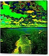 Cosmic River 2 Canvas Print
