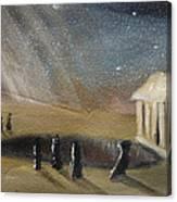 Cosmic Shift Canvas Print