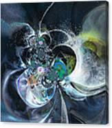 Cosmic Spider Canvas Print