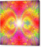 Cosmic Spiral Ascension 02 Canvas Print