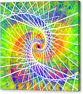 Cosmic Spiral Ascension 03 Canvas Print