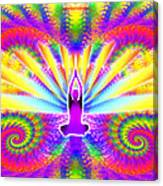 Cosmic Spiral Ascension 09 Canvas Print