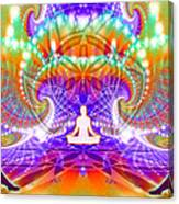 Cosmic Spiral Ascension 60 Canvas Print