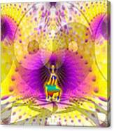 Cosmic Spiral Ascension 62 Canvas Print