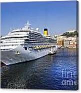 Costa Cruise Ship Canvas Print