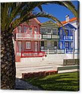 Costa Nova Portugal Canvas Print