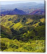 Costa Rica Mountains Canvas Print