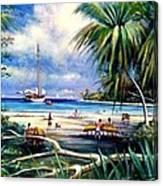 Costa Rica Sailing Canvas Print