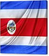 Costa Rican Flag Canvas Print