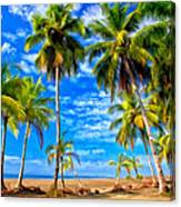 Costa Rican Paradise Canvas Print