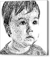 Costin Boy Canvas Print