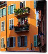 Cote D'azur Alley Canvas Print