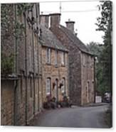 Cotswold Cottages Canvas Print