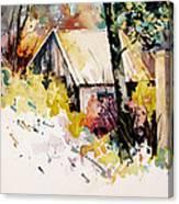 Cottage 3 Canvas Print