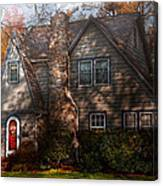 Cottage - Cranford Nj - Autumn Cottage  Canvas Print